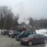 Our on-site sugar house, where all of our pure VT maple syrup is made!