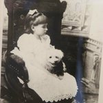 Helen Keller, childhood picture