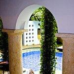 courtyard /pool near reception