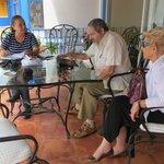 Terraza y comedor con vista al Valle de Cocora. Beatriz Londoño (pro), Gabriel Ruiz y Perla Morr