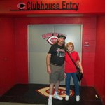 entry to Reds clubhouse