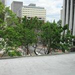 2nd floor view of Wells Fargo bldg