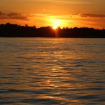 Sunset on the upper Zambezi