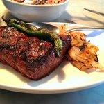 kalbi marinated steak
