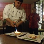 Excelente el chef .., felicitaciones a él y a Víctor nuestro mesero estrella !!