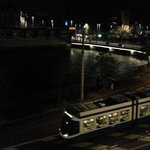 Limmat bridge at night