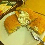 Ripieno fritto classico (doppio) ricotta, fior di latte, salame, prosciutto, pepe e basilico