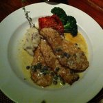 Macademia crusted chicken