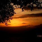 amazing sunset view