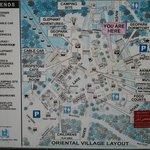Peta lokasi wisata