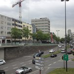 View from Hauptbahnhof