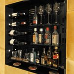 Private bar in all rooms