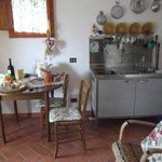 Tiny kitchenette