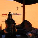Dans le camps des dunes