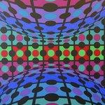 Victor Vasarely - Procion-MC, 1974-75