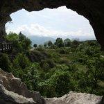 """Aussicht aus dem """"Berggang"""" richtung Grenoble"""