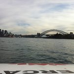 Heading toward Circular Quay
