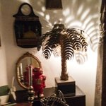 Palm tree lamp from the eclectic collection of stuff