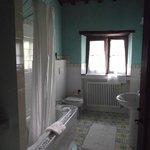 Main bathroom with a bath!