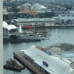 Darling Harbour view close up