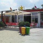 Tavolini Bar lato mare