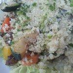 Ensalada con verduras y quinua