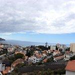Foto aus dem siebten Stock Richtung Hafen