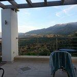 View towards to White Mountains
