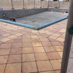 pool under repair !
