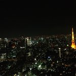 Wonderful tokyo view from Roppongi hills