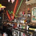 Behnd the bar