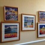 Art on every wall