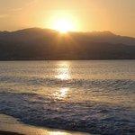 levé de soleil à TORRE DEL MAR