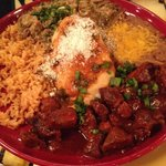 Tres Amigos as you will need tres amigos to help eat this delicious plate of food!