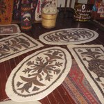 UMUT'S FELTED RUGS IN THE SHOP - NOT WHAT I RECEIVED
