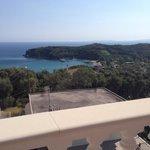 Bild von unserer Terrasse aufs Meer