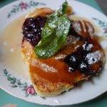 Blueberry pancakes : copieux et bon