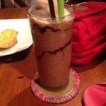 Chocolate shake! Yummo