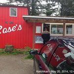Rose's Caboose on North Tongass Highway