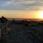 Areia´s sundown view