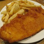Perfect light batter with delicious local fresh fish.