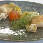 Mull Hand Dived scallops