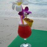 Cocktails at dusk.