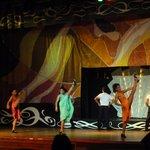 International dance show one night