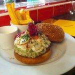 Burger Homard A La Mela Verde