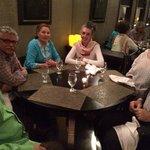 cena con Secretario General de ACS/AEC, Embajador de Mexico y de El Salvador con sus esposas
