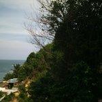 Vista do Bangalô com hidromassagem