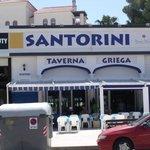 Santorini Taverna front