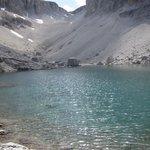 lago al pisciadù in piena