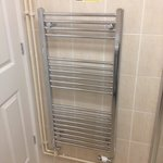 Heated towel rails in new Classic rooms